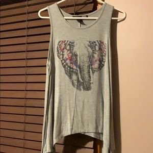 Tops - Faded Comfy Tank